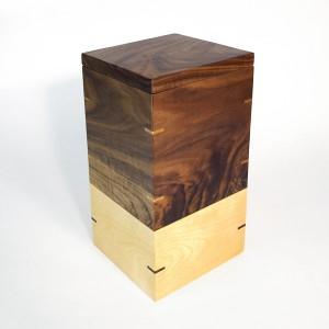 urne noyer merisier